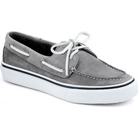 Men's Washable Bahama 2-Eye Boat Shoe in Grey by Sperry Top-Sider
