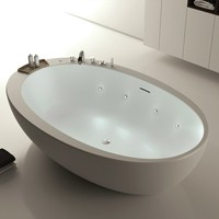 Bathtub for chromotherapy ELITECHNIC by MOMA Design by Archiplast
