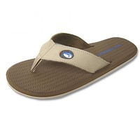Men's Upper Nubuck Flipjacks in Sand by Southern Tide