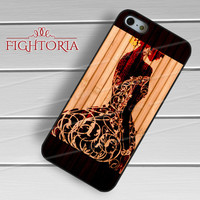 Woman silhouette on wood texture -end for iPhone 4/4S/5/5S/5C/6/6+,samsung S3/S4/S5/S6 Regular/S6 Edge,samsung note 3/4