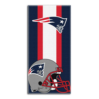 New England Patriots NFL Zone Read Cotton Beach Towel (30in x 60in)
