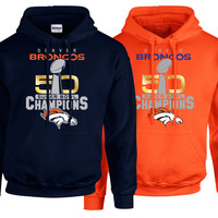 Denver Broncos SuperBowl 50 Championship Collection v1 -  Tshirt,Hoodie, Tank Mens Womens & Kids - Free Shipping
