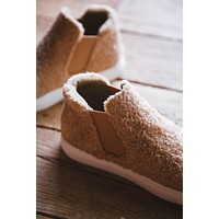 Harlan Slip On Sneaker, Natural Teddy | Coconuts By Matisse