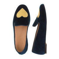 Girls' embroidered Darby loafers - flats & moccasins - Girl's shoes - J.Crew