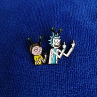 Rick and Morty Enamel Pins