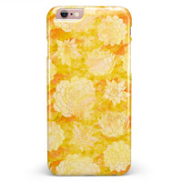 Yellow Floral Succulents iPhone 6/6s or 6/6s Plus INK-Fuzed Case