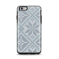 The Knitted Snowflake Fabric Pattern Apple iPhone 6 Plus Otterbox Symmetry Case Skin Set