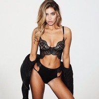 On Sale Cute Hot Deal Lace Sexy Set Exotic Lingerie [1414816432225]