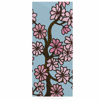 """Art Love Passion """"Cherry Blossom Day"""" Floral Illustration Luxe Rectangle Panel"""