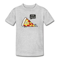 Funny Cartoon Pizza - Statement / Funny / Quote Kid's T-Shirt