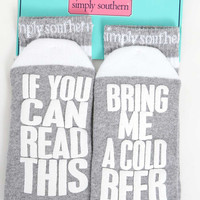 If Your Can Read This .... Socks by Simply Southern