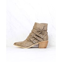 Miracle Miles - Fayth Western Bootie in Khaki