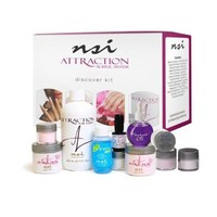 NSI Attraction Nail Acrylic System Discover Kit - Made in USA