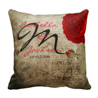 Unique and Beautiful Vintage Styled Pillows