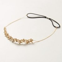 Lille Headband by Anthropologie Gold One Size Hair