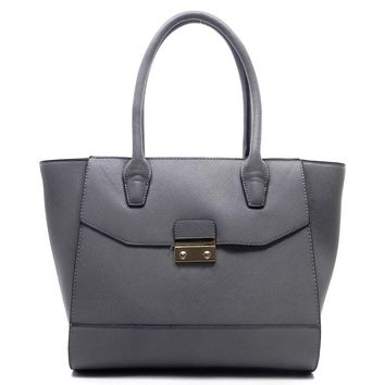 NEW Textured Top handle Tote