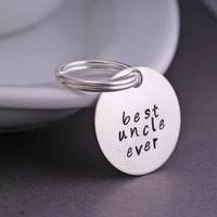 Personalized Uncle Keychain Gift
