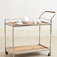 Wooden Bar Cart by Anthropologie in Brown Size: One Size Furniture