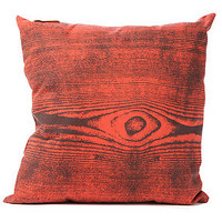 THE RISE AND FALL The Wood Grain Pillow in Orange : Karmaloop.com - Global Concrete Culture
