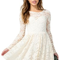 Sweetheart Vintage Lace Dress
