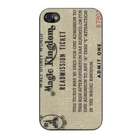 disney world readmission ticket case for iphone 4 4s