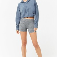 Active Hooded French Terry Top