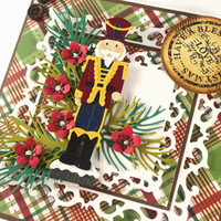 Christmas Card, Seasons Greetings, Blessed Christmas, Toy Soldier