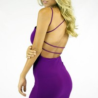 DRESS - PURPLE
