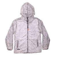 Hooded Sherpa Pullover in Pearl by Simply Southern