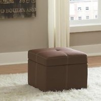 Lift Top Storage Cube Ottoman Bench Chair Foot Stool End Relax Dress Table Accen
