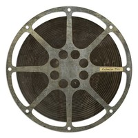 Spicher and Company 'Film Reel' Vintage Look Wall Art