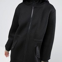 ASOS Parka In Oversized Mesh at asos.com