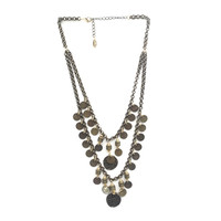 Treasure Chest Findings Necklace in Brass