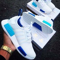ADIDAS NMD R1 Hot sale classic couple casual shoes sneakers-1