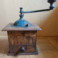 Antique French Coffee Grinder Peugeot Freres