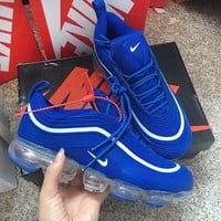 NIKE AIR MAX 97 Fashion Men Casual Air Cushion Running Sneakers Sport Shoes Blue