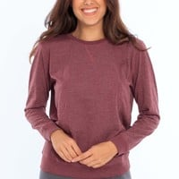 Women's Long Sleeve Crew Neck T-Shirt