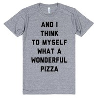 What A Wonderful Pizza (Louis Armstrong Parody)