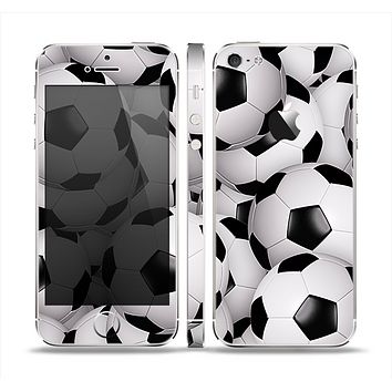 The Soccer Ball Overlay Skin Set for the Apple iPhone 5