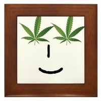 Pot Head Emote Framed Tile> The Pot Head Emote> 420 Gear Stop