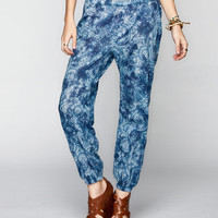 Billabong Designer's Closet Drop In Womens Crop Pants Indigo  In Sizes