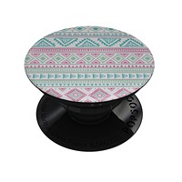 Doodle Aztec Pattern - Skin Kit for PopSockets and other Smartphone Extendable Grips & Stands