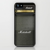 guitar electric marshall amp amplifier apple iPhone 4 4s, 5 5s 5c, iPod & samsung galaxy s4 case