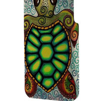 Best 3D Full Wrap Phone Case - Hard (PC) Cover with Baby Turtle Under The Sea Art Design