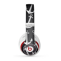 The Black Anchor Collage Skin for the Beats by Dre Studio (2013+ Version) Headphones