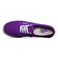 Vans Neon Authentic Lo Pro (electric purple)