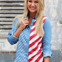 Americana Button Up