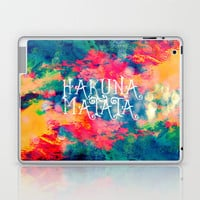 Hakuna Matata Painted Clouds Laptop & iPad Skin by Caleb Troy | Society6
