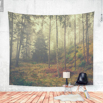 They whisper things Wall tapestry