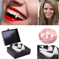 Fancy Dress Vampire Teeth Denture Fangs Bites Costume Party Halloween Props [9324253316]